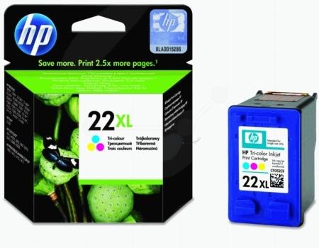 HP 22XL Tri-Colour Ink Cartridge
