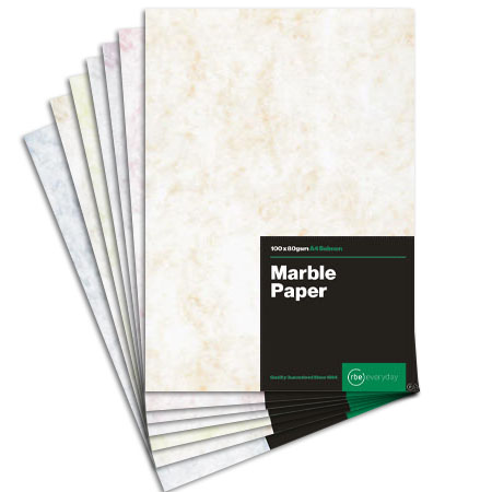 80gsm Bond Paper Marble pink 100 Sheets