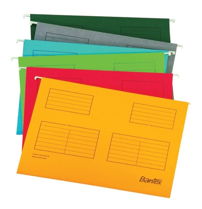 Bantex A4 Suspension File Dark Green