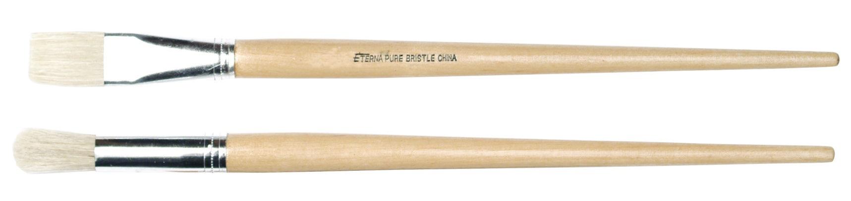 No.7 Flat Hog Brush