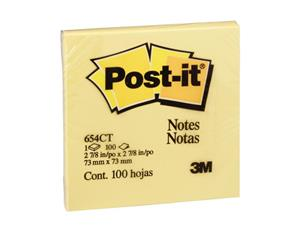 Post-It Note Pad 73x73 Yel