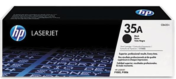 HP 35A Black Toner Cartridge