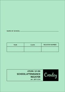 Croxley JD286 School Attendance Register