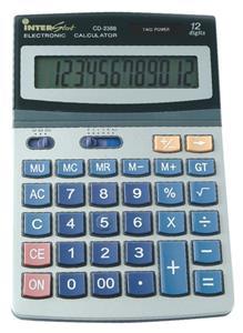 CD2388 12 Digit Lrg Desktop Calculator