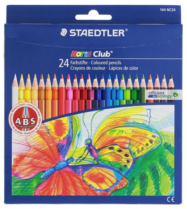 Staedtler Noris Club Colour Pencil 24 Full