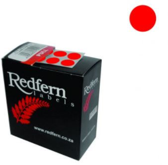 Redfern C10 Label Red