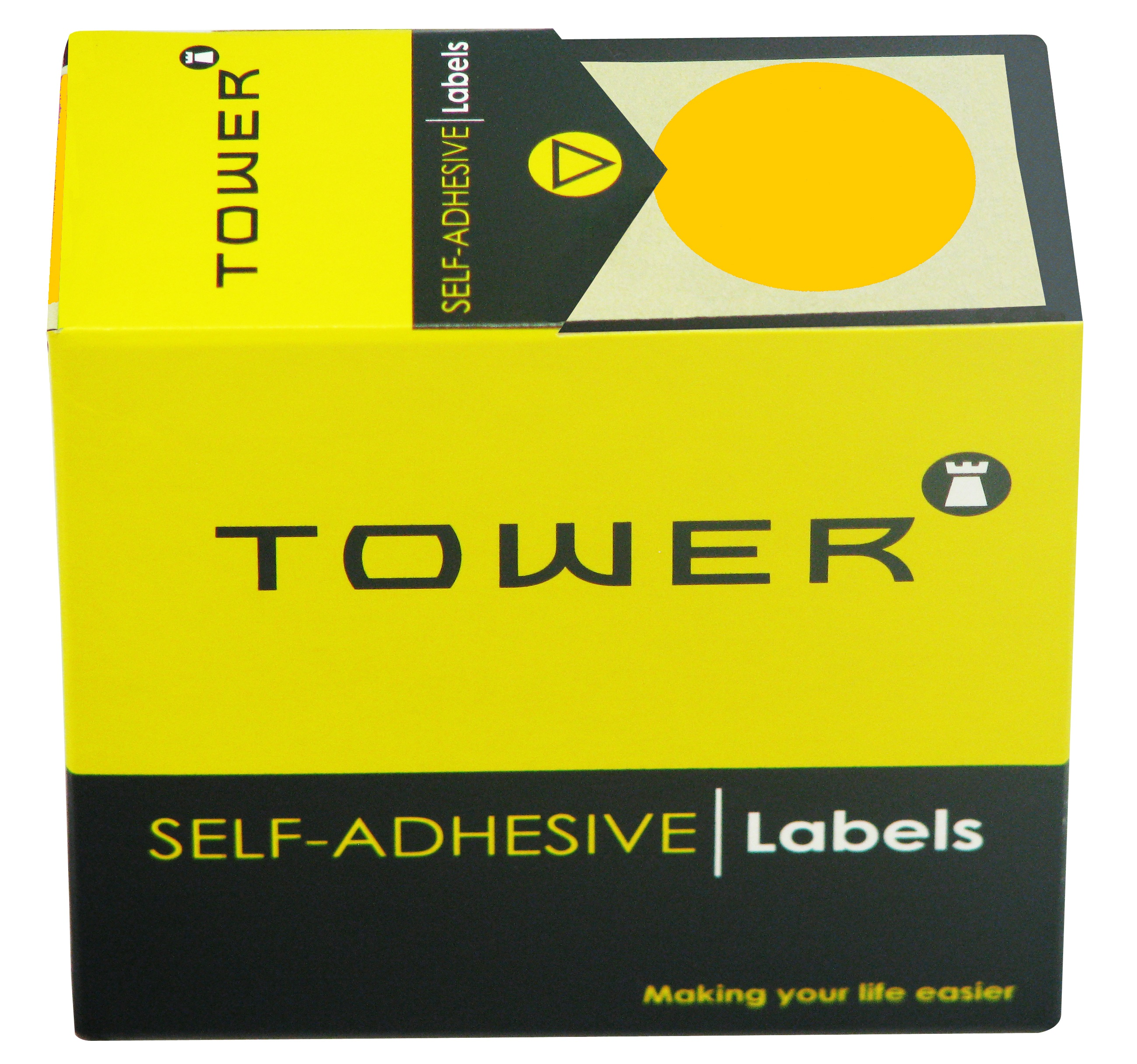Tower C32 Label Flu Orange