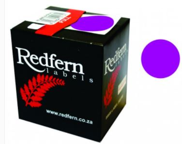 Redfern C19 Label Purple
