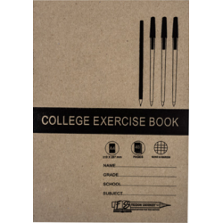 College A4 Excercise Book 48pg Q&M