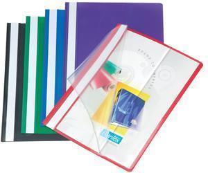 Bantex PVC Deluxe Quotation Folder Red
