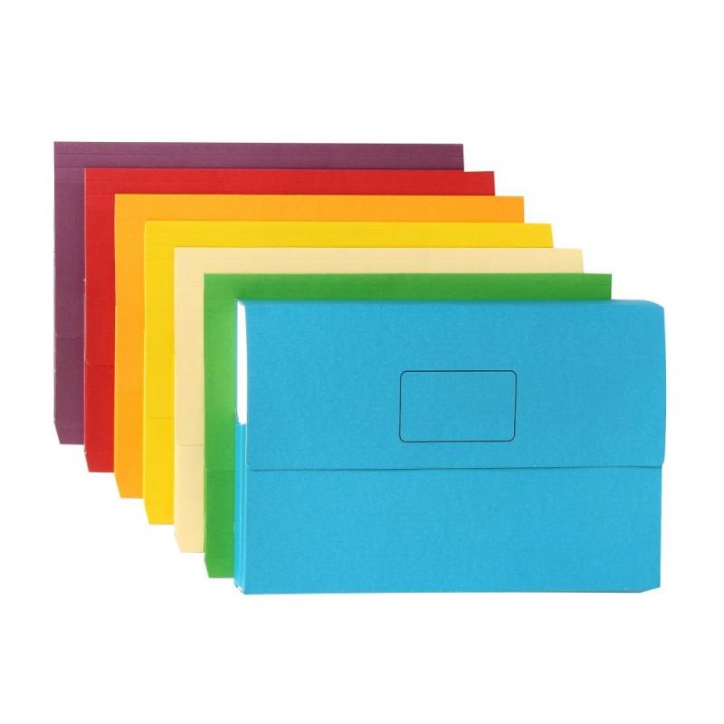 Rexel Slimpick Document Wallets 10's