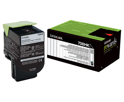 Lexmark 708hk Black High Yield Return Program Toner Cartridge