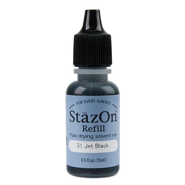 Stazon refill – fast drying solvent (18ml)