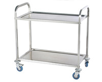 Steel Tea Trollies 2 Tier