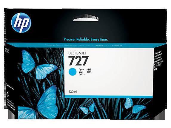 HP No.727 130ML Cyan Cartridge