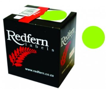 Redfern C19 Label Lime