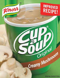 Cup A Soup-Creamy Mushroom