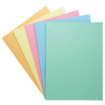 Croxley Foolscap Manilla Folders YELLOW 220gsm- 100 pack