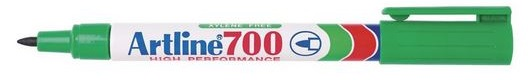 Artline EK700 Marker F Green