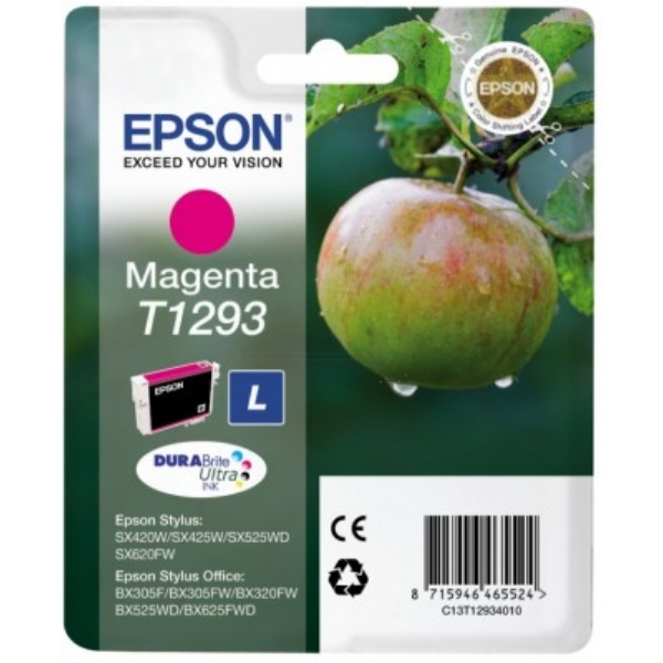 Epson T1293 High Yield Magenta Ink Cartridge