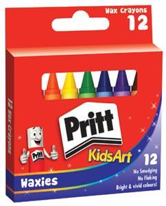 Pritt Wax Crayons 24's