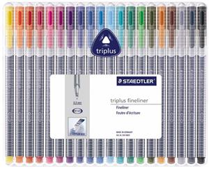 Staedtler Triplus F-Liner Box 20 Assorted