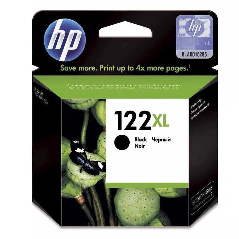 HP  No.122 XL Black Ink Cart - Deskjet A10,