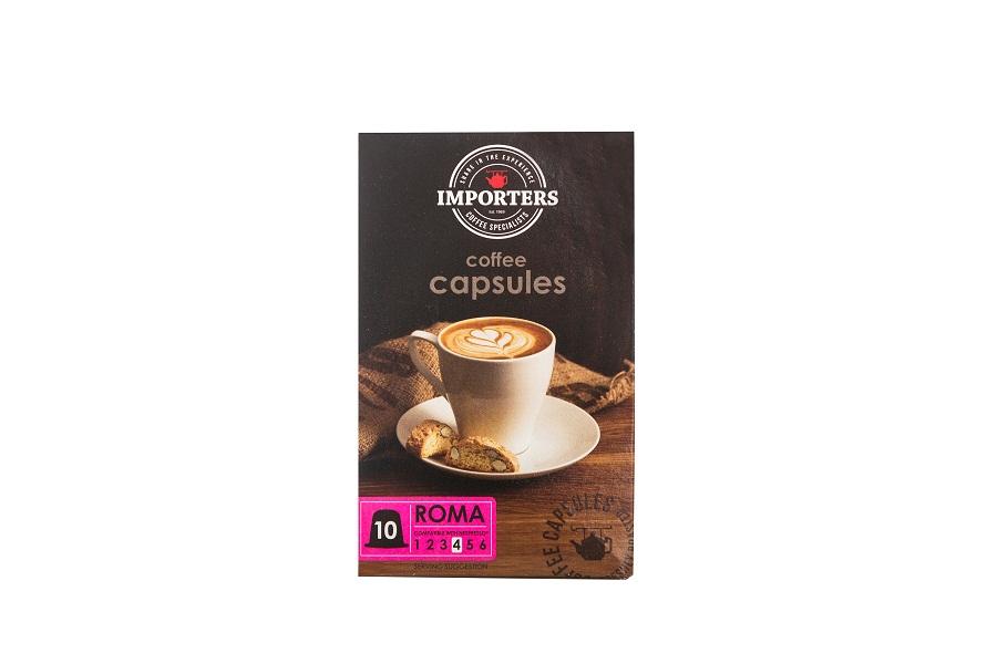 Importers Coffee Capsules Roma 10X5g