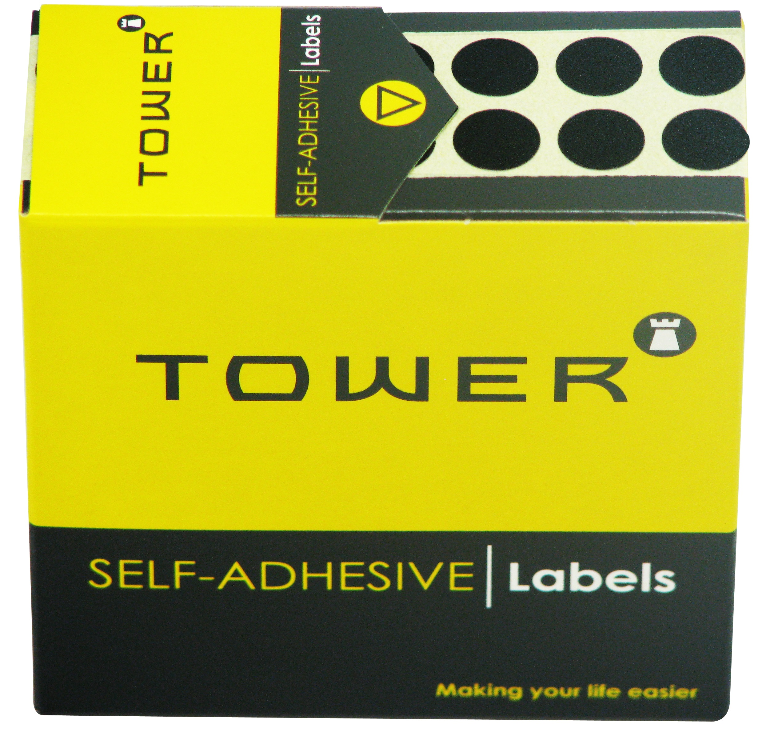 Tower C13 Label Black