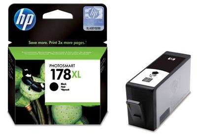 HP 178XL Black Ink Cartridge