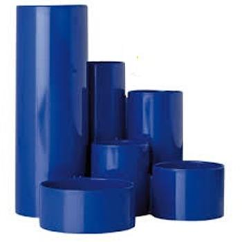 Desk Tidy Round Up Blue