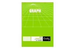 Croxley JD572 A4 Graph Pad