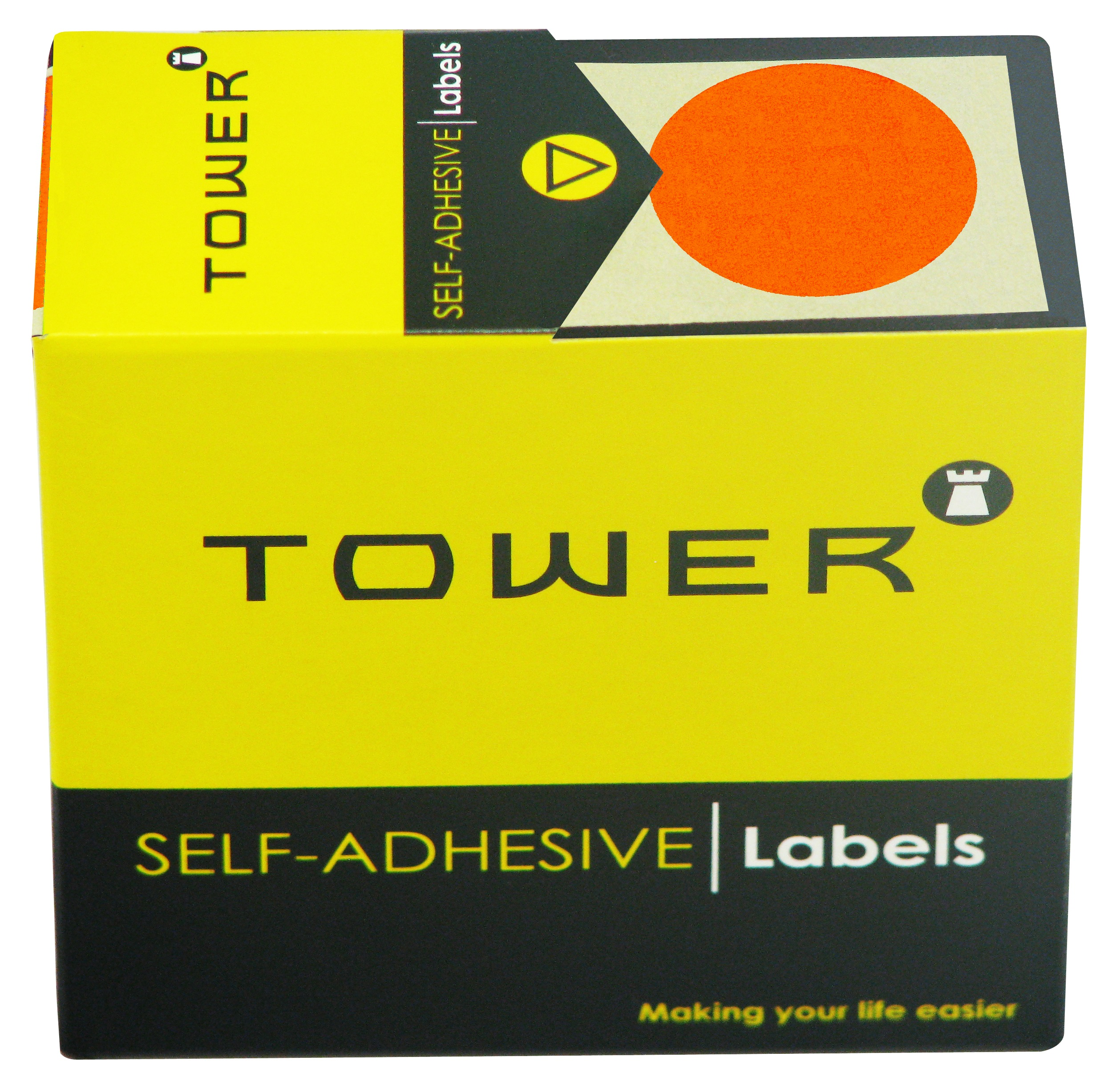 Tower C32 Label Orange
