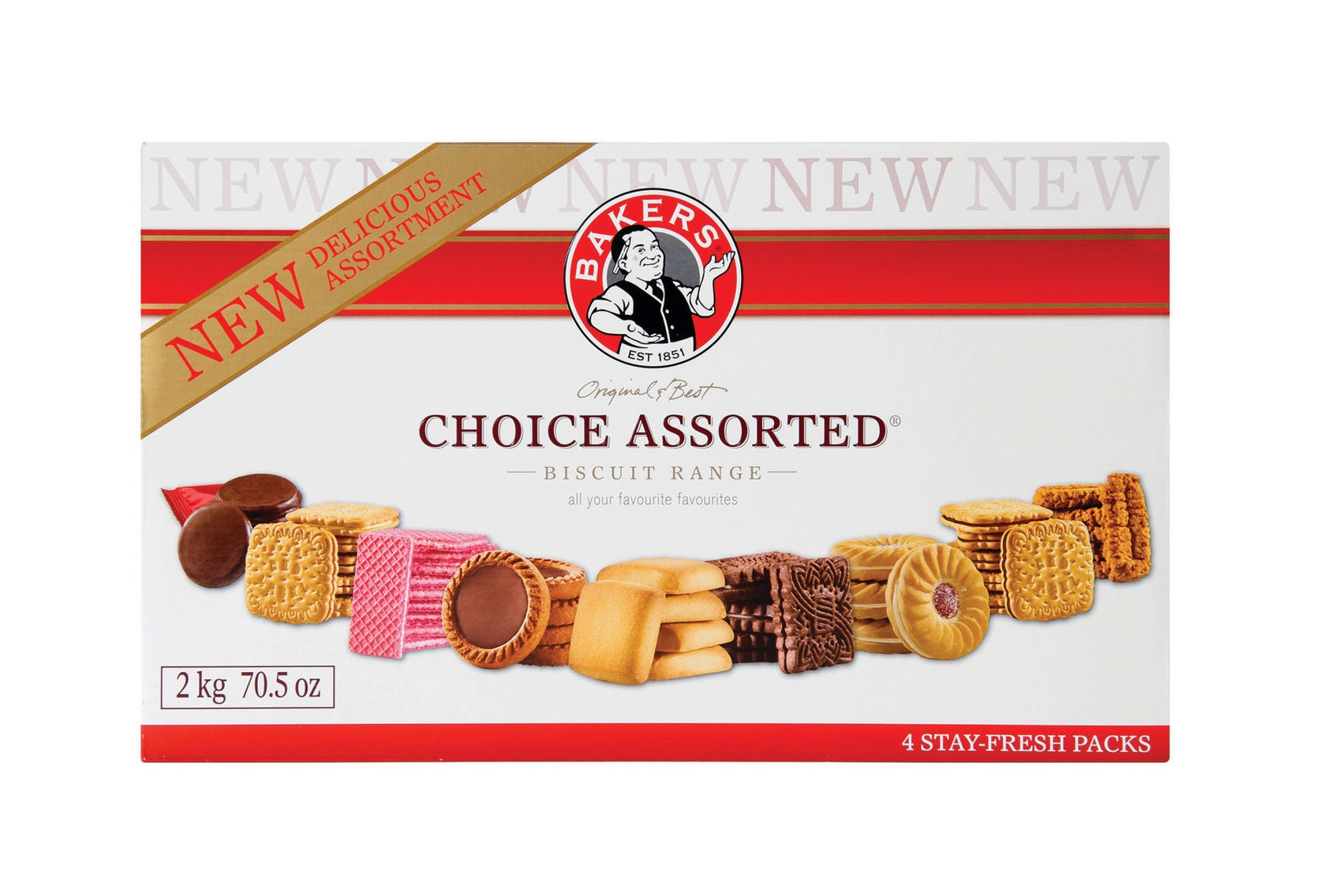 Bakers Biscuits 2kg