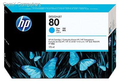 HP #80 CYAN INK CARRIDGE 175ML