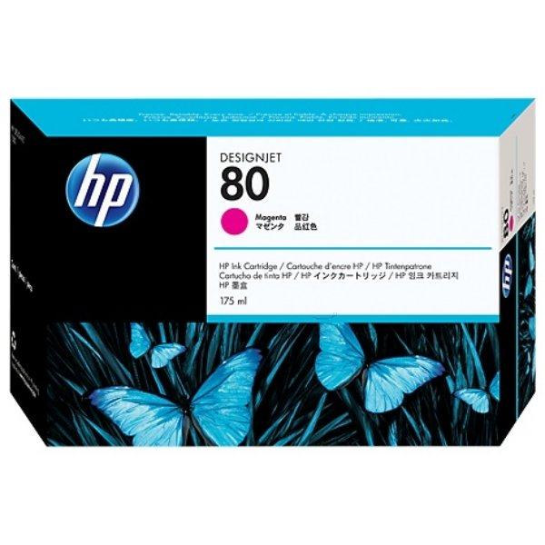 HP #80 MAGENTA INK CARTRIDGE 175ML