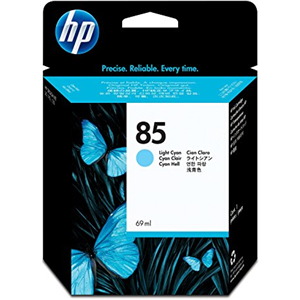 HP  85 LIGHT CYAN INK CARTRIDGE FOR DESIGNJET 3090 SERIES (69ML)