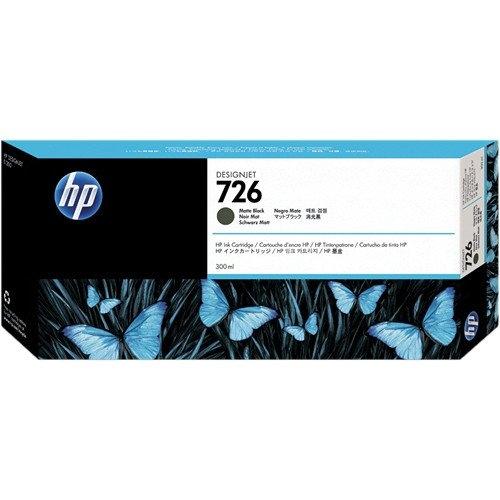 HP 726 300ML MATTE BLACK DESIGNJET INK CARTRIDGE