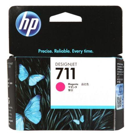 HP 711 MAGENTA INK CARTRIDGE FOR DESIGNJET T120 SERIES (29ML)