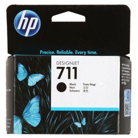 HP 711 BLACK INK CARTRIDGE FOR DESIGNJET T120 SERIES (80ML)