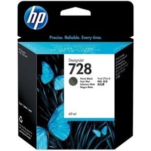 HP 728 MATTE BLACK INK CARTRIDGE FOR T7 830 ( 69ML )