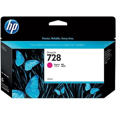 HP 728 MAGENTA INK CARTRIDGE FOR T7 830 ( 130ML )