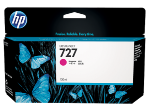 HP 727 MAGENTA DESIGNJET INK CARTRIGE FOR T920 AND T1500 (300ML)