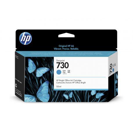 HP 730 CYAN INKJET CARTRIDGE 130ML FOR DJ T1700 T1700DR