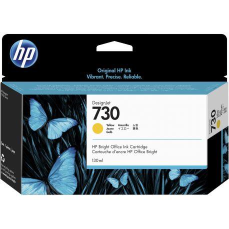HP 730 YELLOW INKJET CARTRIDGE 130ML FOR DJ T1700 T1700DR