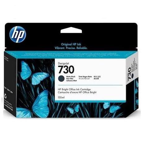 HP 730 MATTE BLACK INKJET CARTRIDGE 130ML FOR DJ T1700 T1700DR