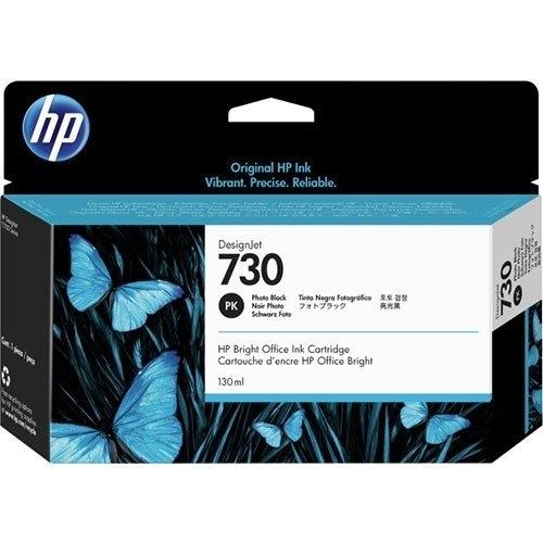 HP 730 PHOTO BLACK INKJET CARTRIDGE 130ML FOR DJ T1700 T1700DR