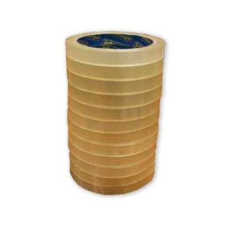 Clear Tape Rolls 12x33m L-Core