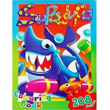 JUMBO COLOURING BOOK 208PG