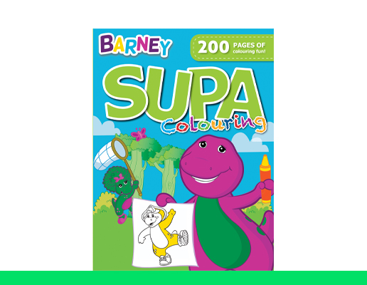 Supa Colouring Books - 200 Pages